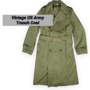 Vintage US Army Trench Coat